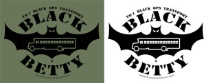 VQ-1 Black Betty Bus design
